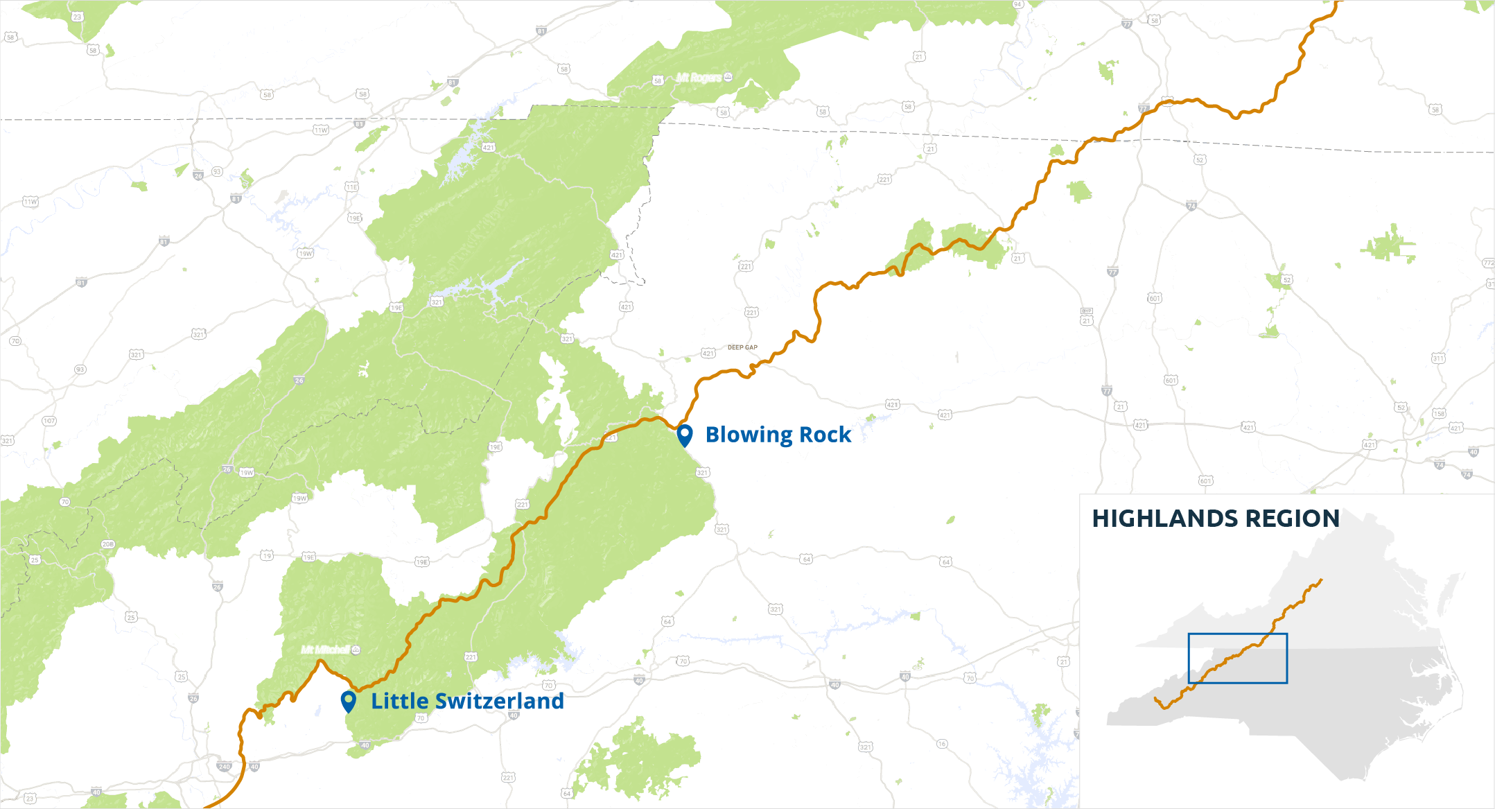 Highlands Region - Blue Ridge Parkway