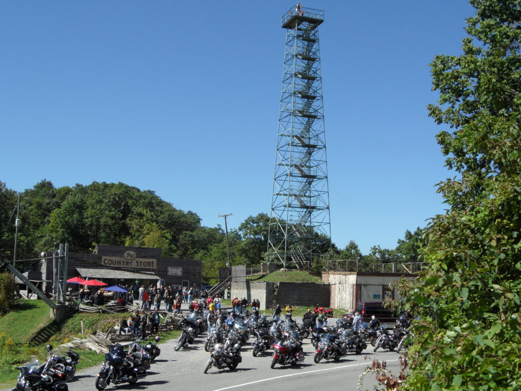 Big Walker Lookout Motorcycle Itinerary