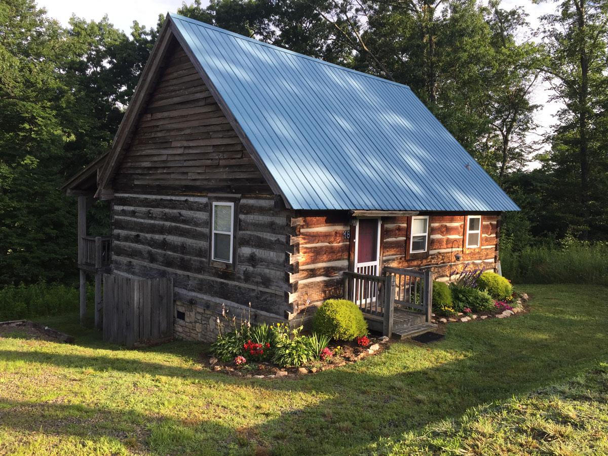 a blue ridge cabin