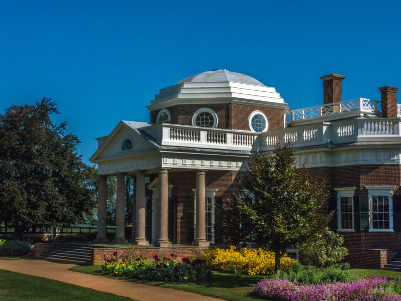 Awe Inspiring Monticello Home Of Thomas Jefferson Blue Ridge Parkway Home Interior And Landscaping Synyenasavecom