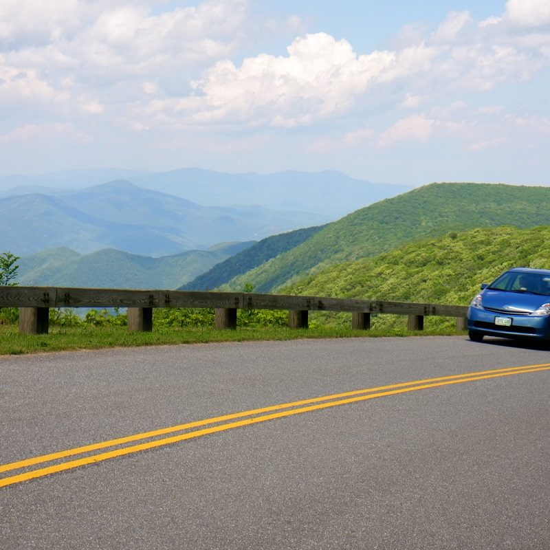 Blue Ridge Parkway Virginia, Where to get gas