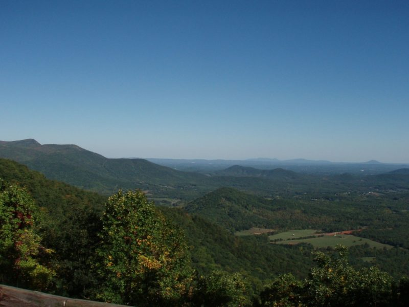 Parkway Point of Interest, Cumberland Knob