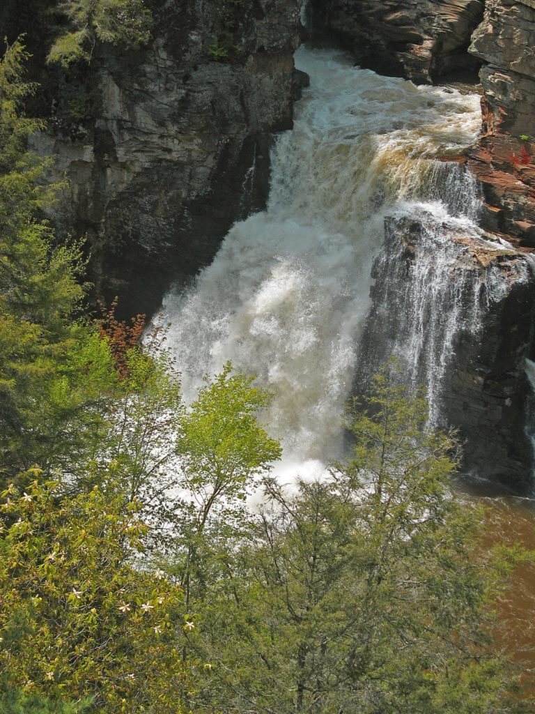 Blue Ridge Parkway Waterfalls: Linville Falls