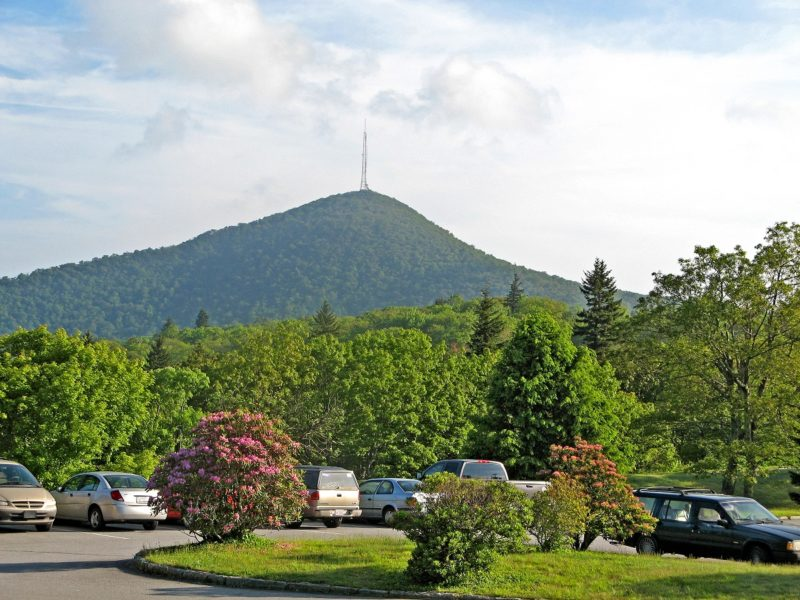 View of Mount Pisgah from Pisgah Inn