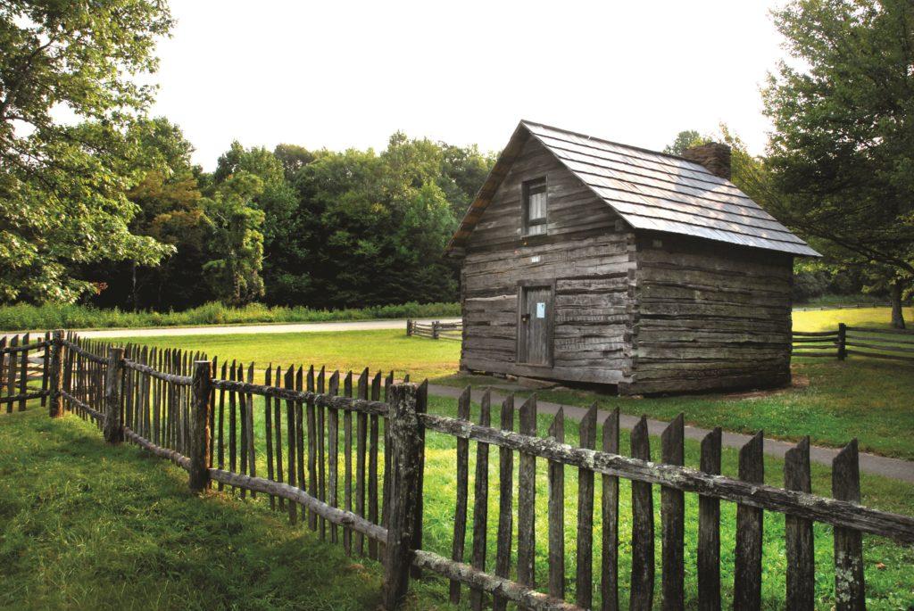 Puckett Cabin, Parkway Plateau Region