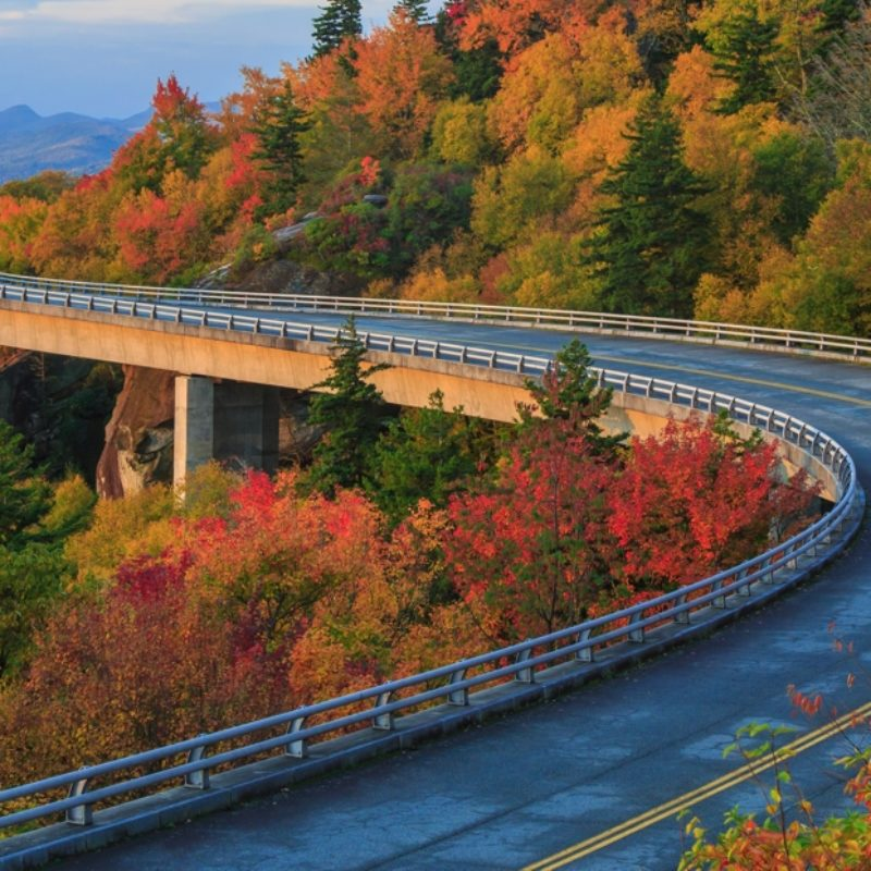 Blue Ridge Parkway - Linn Cove Viaduct