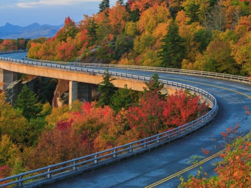 Blue Ridge Parkway - Linn Cove Viaduct