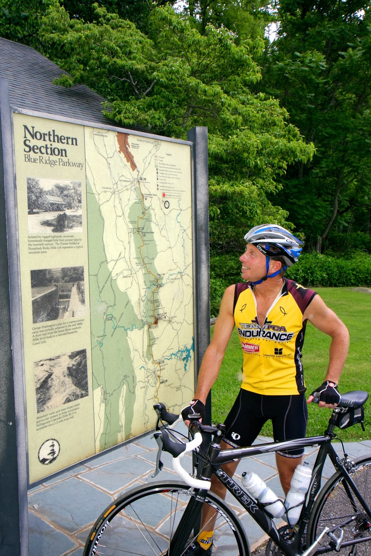 Bike the Blue Ridge Parkway