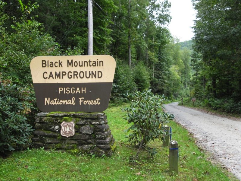 Black Mountain Campground, CFAIA