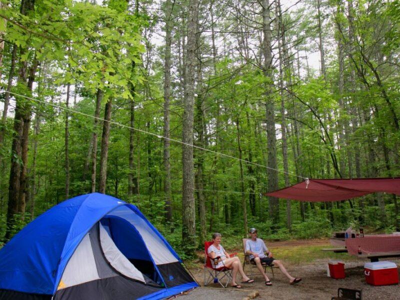 Camp the Blue Ridge Parkway