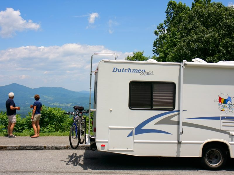 RV the Blue Ridge Parkway