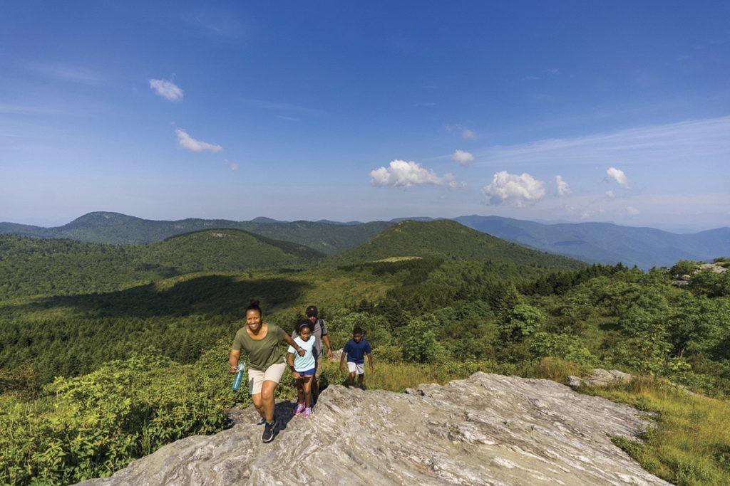 Visit NC Smokies Hiking in Haywood County