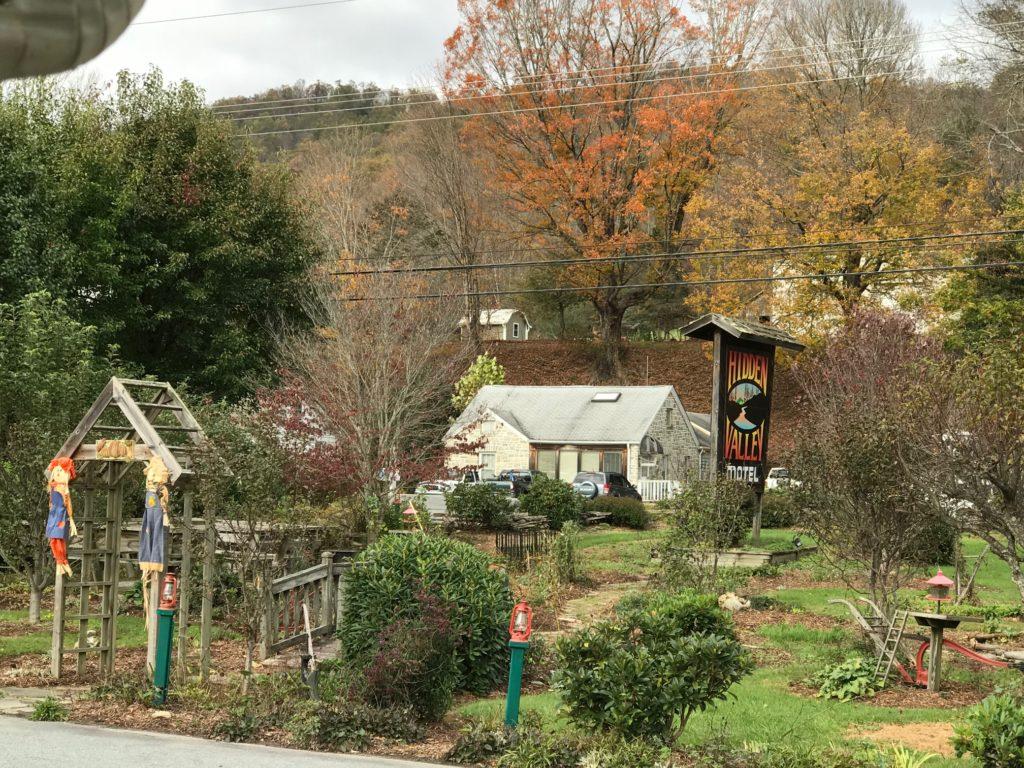 Hidden Valley Motel Blue Ridge Parkway