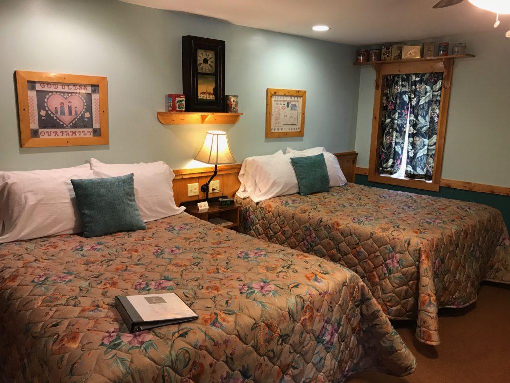 Hidden Valley Motel Rooms
