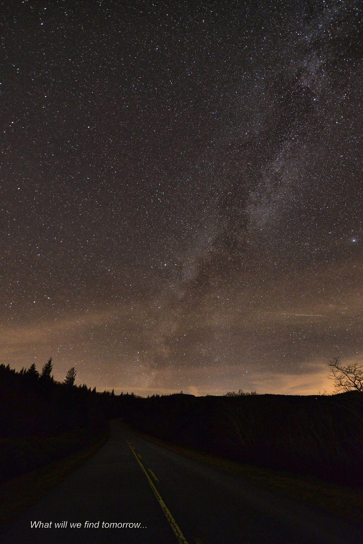 Night Sky over Graveyard Fields