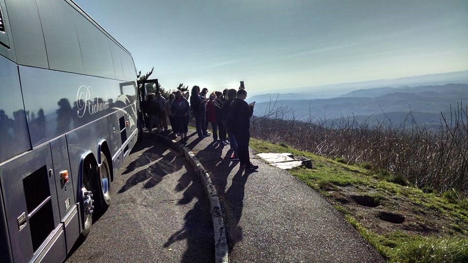 Blue Ridge Parkway FAM Tour