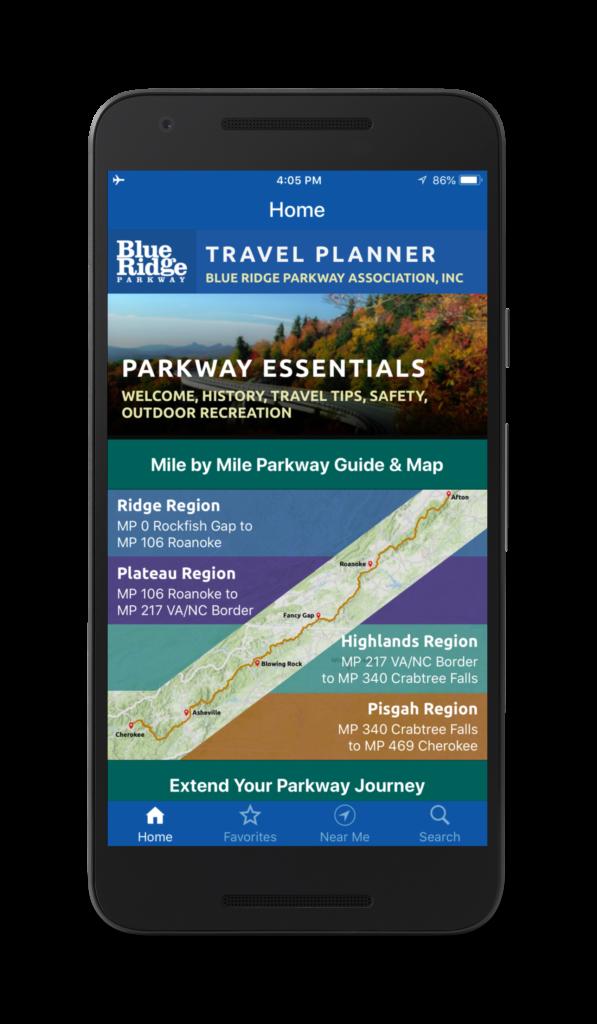 blue ridge parkway travel planner blue ridge parkway