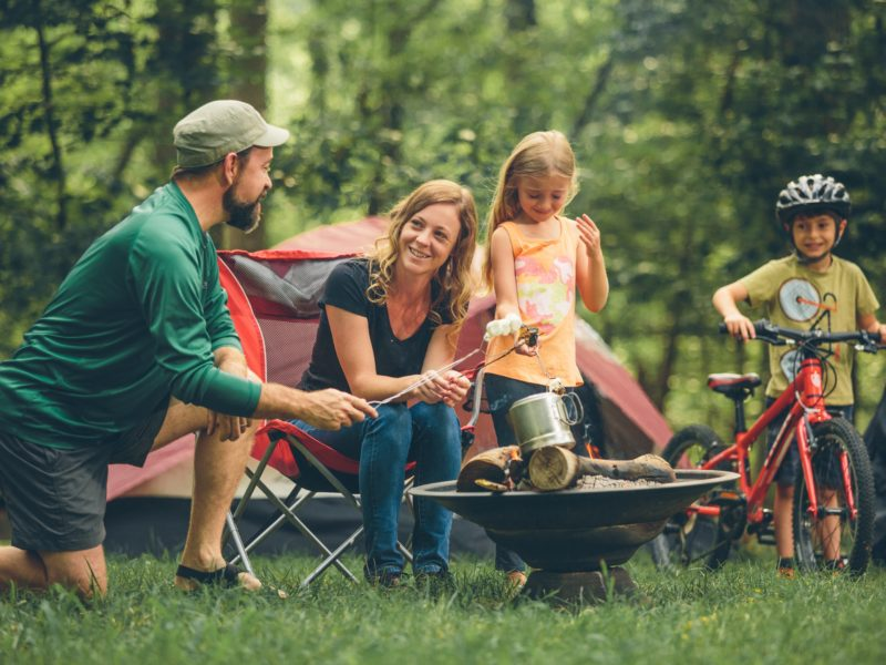 Campgrounds at Explore Park