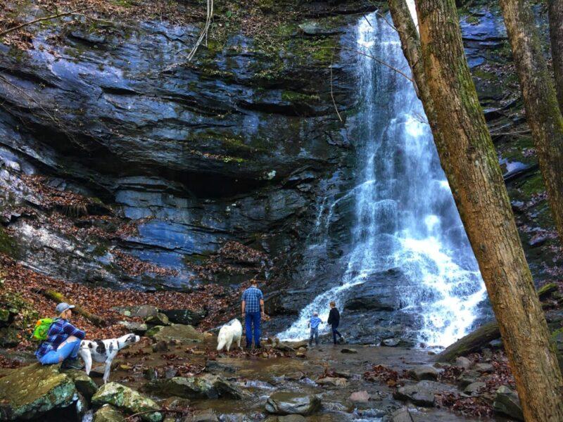 NETTA Weekend Getaway Waterfall