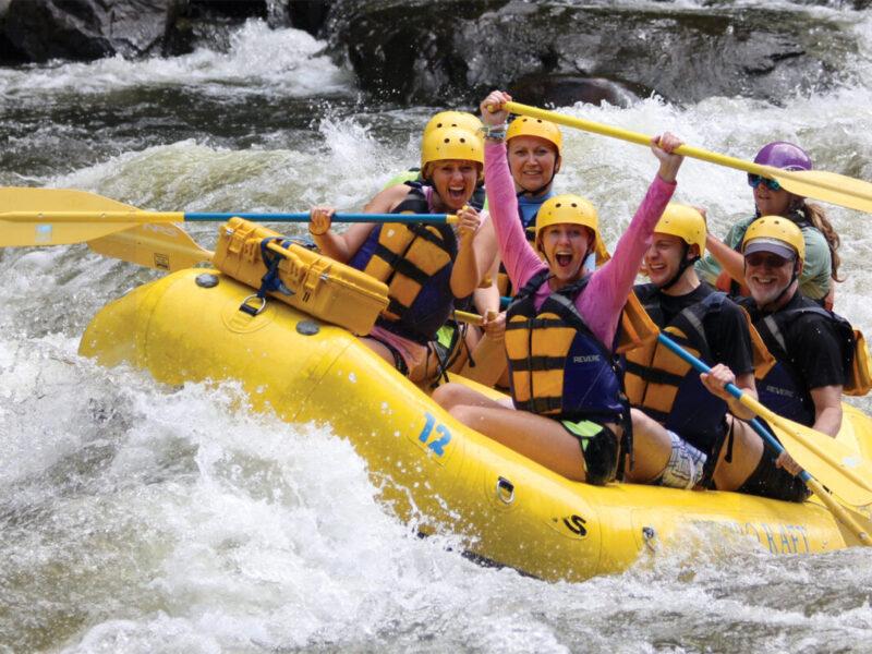 Rafting in the Smokies