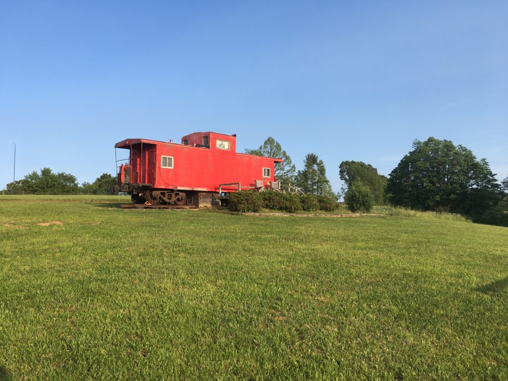Grassy Creek Cabooses train car rentals