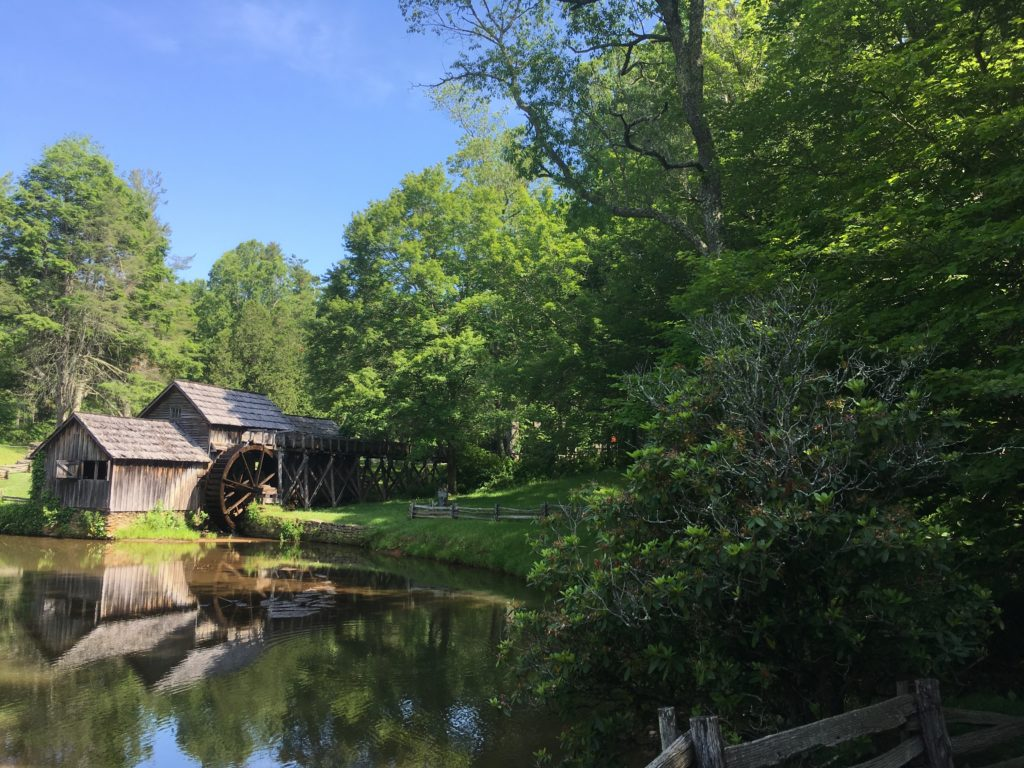 Mabry Mill, the most photographed spot on the BRP