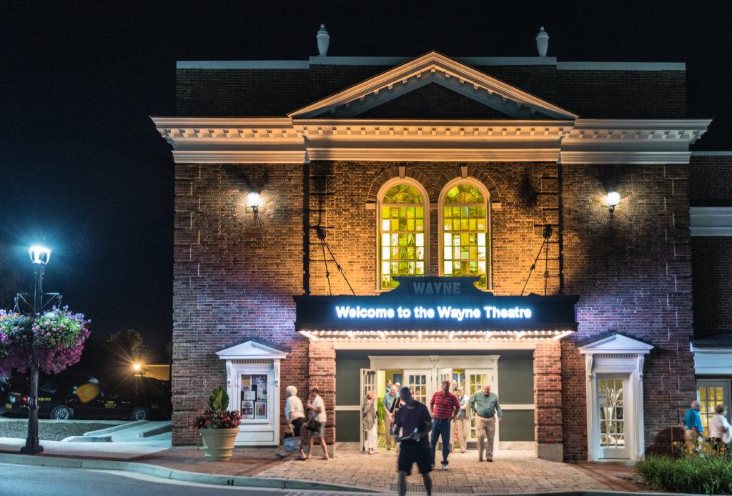 Wayne Theatre Exterior