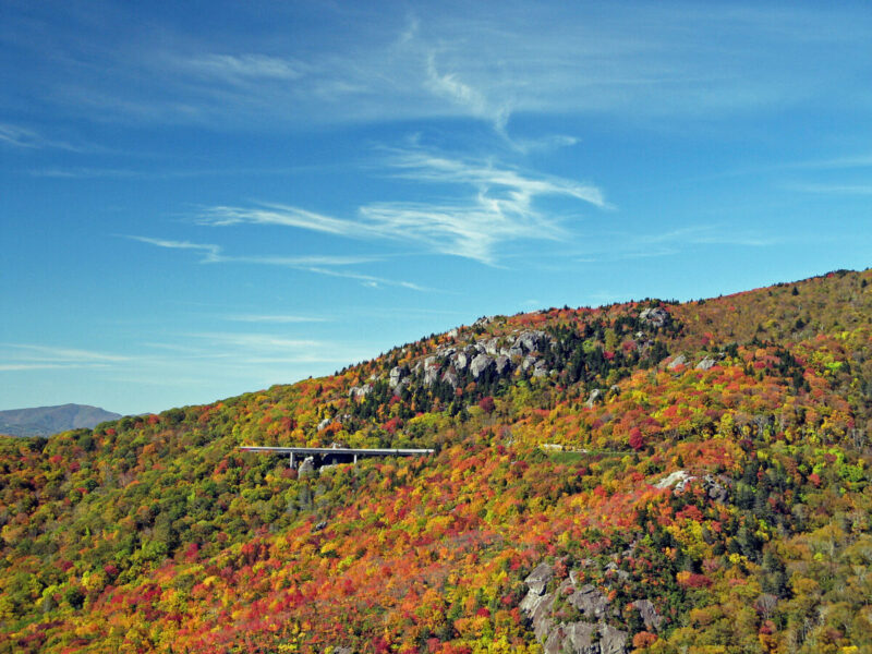 Linn Cove Viaduct View 1 by William A. Bake