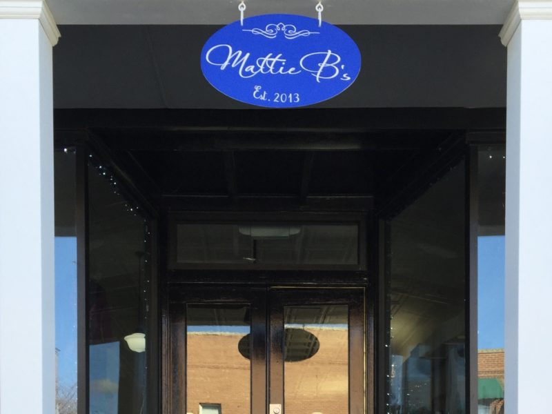 Mattie B's boutique, exterior