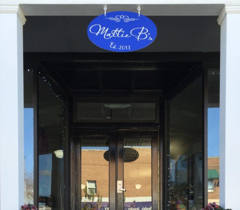 Mattie B's boutique, exterior
