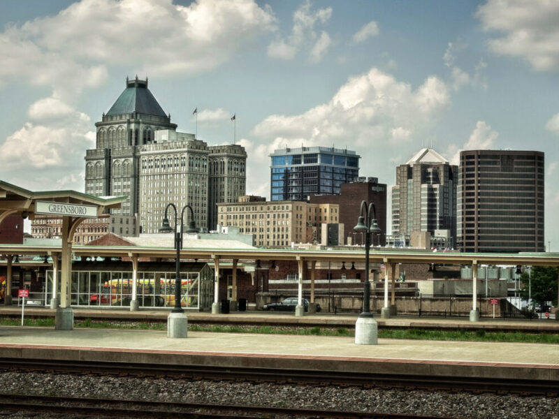 Greensboro Area Destination Skyline