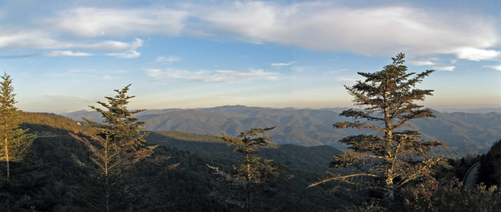 View from Waterrock Knob